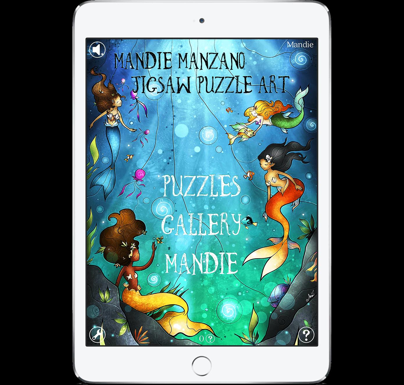 Mandie Manzano Puzzle Art App