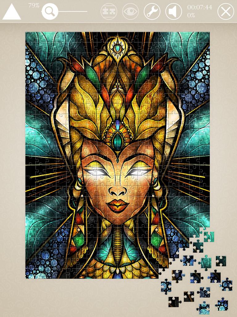 octo mini  u2013 mandie manzano jigsaw puzzle art
